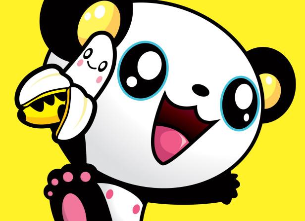 Jumping Panda Character