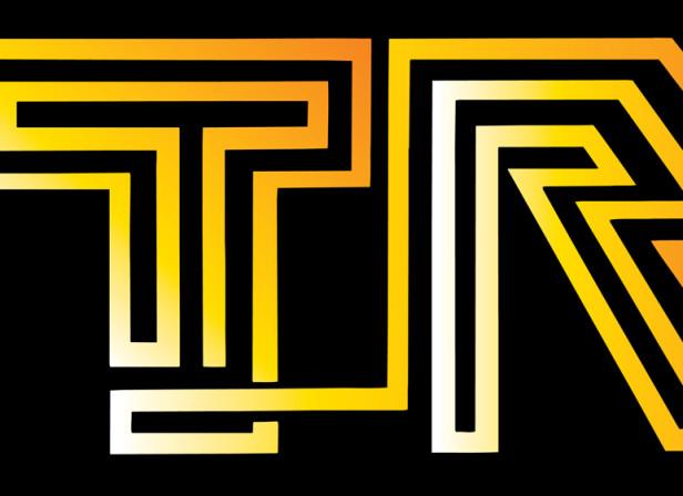 Orange Try Poster Tron
