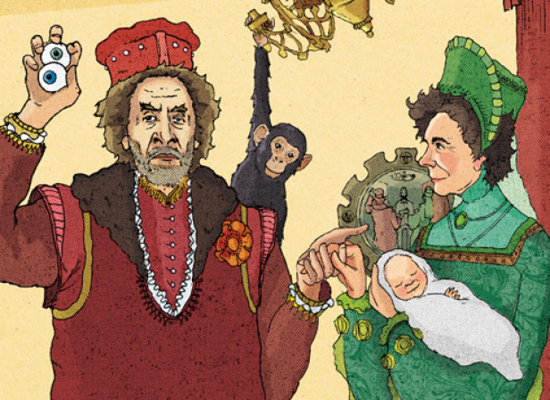 Howard Jacobson and Jeannette Winterson / The Telegraph