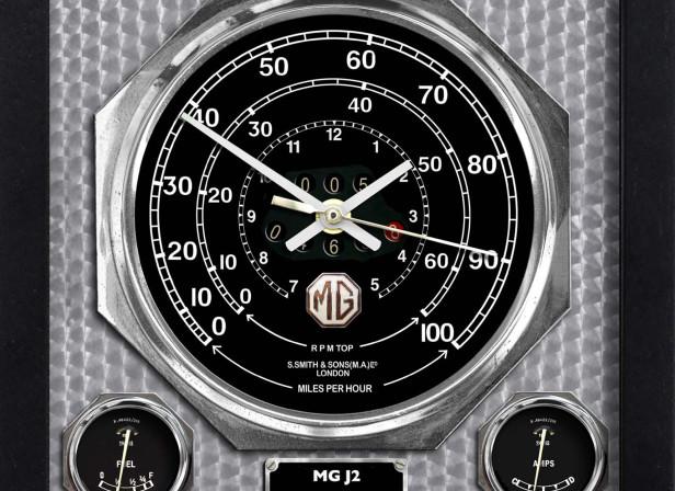MG J2 Wall Clock