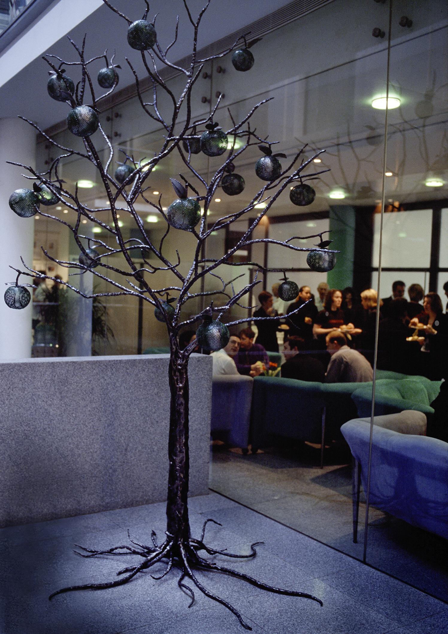 Apple Tree Public Sculpture Leo Burnett Ad Agency London