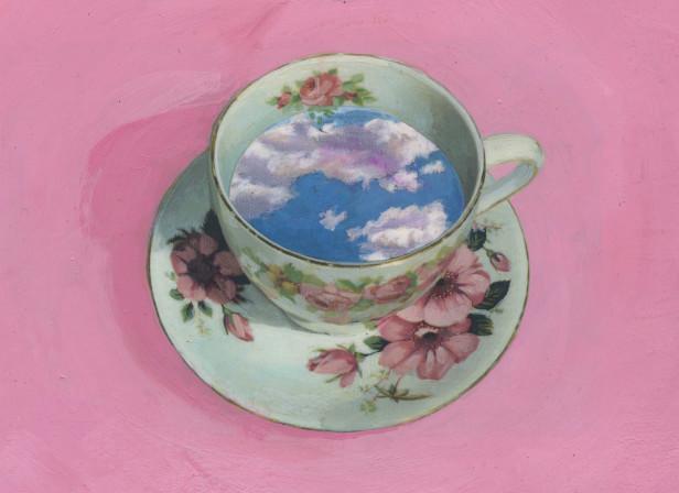 Cup Clouds Sainsburys Magazine