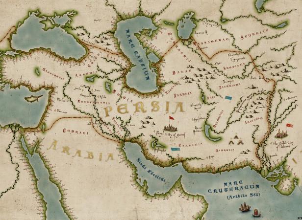Walt Disney's Prince Of Persia Map