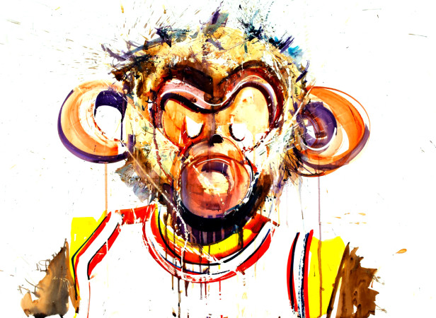 Dunkeys Monkey Face