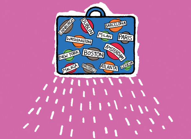 Well Travelled Suitcase