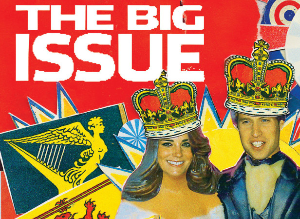 Royal Wedding Cover / The Big Issue
