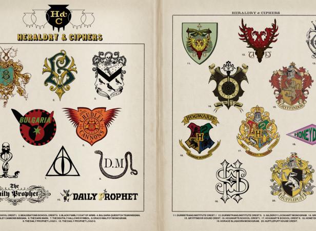 Harry Potter Heraldry & Ciphers