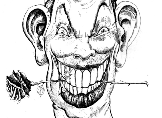 Tony Blair Cartoon / Erotic Review