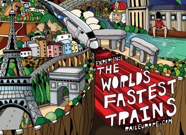 TGV Trains Poster
