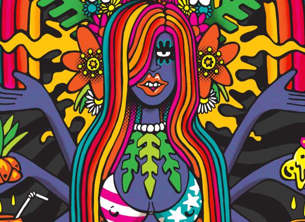 Sunset Godess